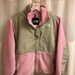 TNF North Face Denali zip up jacket sweatshirt S